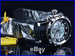 NEW Invicta 52mm Men's VENOM Sea Dragon 2 Swiss Chrono White Robin MOP SS Watch