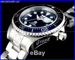 NEW Invicta Men 300M BLUE DIAL Automatic Grand Diver Stainless Steel Watch