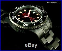 NEW Invicta Men 300M Black Dial Automatic Grand Diver Stainless Steel Watch