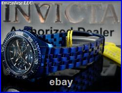 NEW Invicta Men 42mm BLUE LABEL Prodiver Swiss Ronda Day/Date Stainless St. Watch