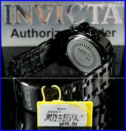 NEW Invicta Men 50mm Pro Diver Scuba Chronograph Stainless Steel Red Dial Watch
