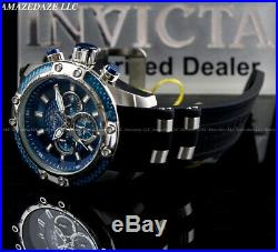 NEW Invicta Men 50mm Speedway Hybrid Scuba Chronograph BLUE DIAL SS Watch
