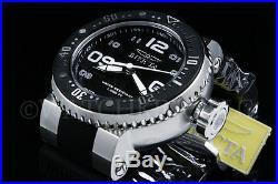 NEW Invicta Men 52MM Grand Pro Diver Blak Dial White Accent SS Black Strap Watch