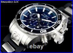 NEW Invicta Men 52mm Corduba Ibza Chronograph BLUE DIAL Stainless Steel Watch