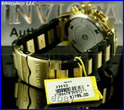 NEW Invicta Men 52mm Corduba Ibza Chronograph GOLD DIAL Stainless Steel Watch