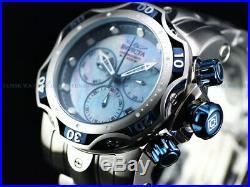NEW Invicta Men 52mm Platinum Forest Venom Gen III Swiss Chrono MOP SS Watch