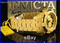 NEW Invicta Men 52mm Pro Diver Scuba Chronograph Sandblasted Stainless St. Watch
