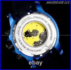 NEW Invicta Men 52mm Speedway Swiss Ronda Z60 Chronograph BLACK DIAL Watch