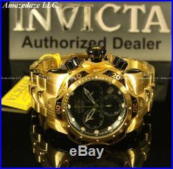 NEW Invicta Men 52mm Venom Swiss Ronda Z60 Chronograph Stainless Steel Watch