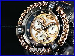 NEW Invicta Men Hercules Reserve 56mm Bolt Swiss Chronograph White MOP SS Watch