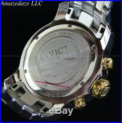 NEW Invicta Men Pro Diver Scuba Chronograph 2Tone Gold Plated Stainless St Watch