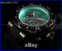NEW Invicta Men Pro Diver VD53 Chronograph Ocean Green Dial Stainless St. Watch