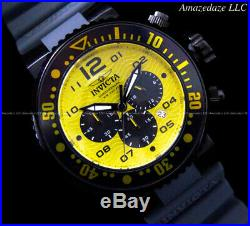 NEW Invicta Men Pro Diver VD53 Chronograph YELLOW DIAL Stainless Steel Watch