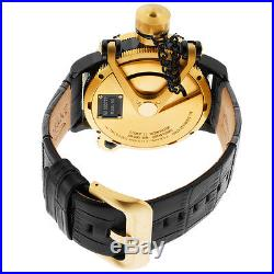 NEW Invicta Men's 16358 Russian Diver Swiss Made Mechanical Nautilus Gold Tone