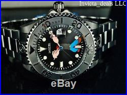 NEW Invicta Men's 47mm Popeye Grand Diver Combat LE Automatic Stainless St Watch