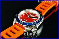 NEW Invicta Men's 47mm Pro Diver SEA WOLF AUTOMATIC Orange Jelly Fish SS Watch