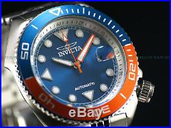 NEW Invicta Men's 47mm Pro Diver SEA WOLF Automatic TT Bezel Blue Dial SS Watch