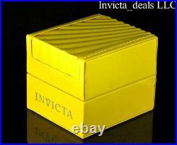 NEW Invicta Men's 48mm PRO DIVER SCUBA Chronograph SILVER DIAL 18K GP SS Watch
