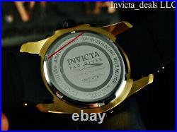 NEW Invicta Men's 48mm Pro Diver SCUBA Chronograph BLACK Dial Gold Tone SS Watch