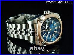 NEW Invicta Men's 48mm RESERVE AUTOMATIC NH35 BLUE DIAL Silver Tone SS Watch