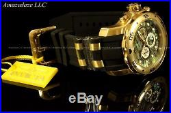 NEW Invicta Men's 48mm Scuba Pro Diver Blue Abalone Dial 18K Gold IP SS Watch