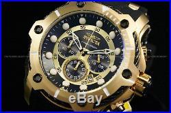 NEW Invicta Men's 50mm Bolt Chrono Black Dial Silicone Strap 18 K G. P S. S Watch