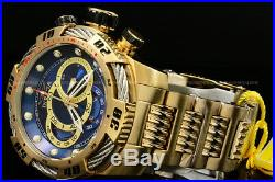 NEW Invicta Men's 50mm Speedway VIPER Gen III 18 K G. P Chrono S. S Bracelet Watch