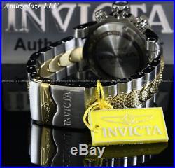 NEW Invicta Men's 52mm Dragon Venom Swiss Z60 Chrono 2 Tone Stainless St. Watch