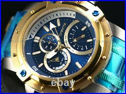 NEW Invicta Men's 52mm Two Tone Stainless RETROGRADE DAY COALITION FORCES Watch