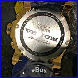 @NEW Invicta Men's 52mm Venom Sea Dragon Gen II Quartz Chronograph 26245 Z60 Ver