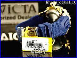 NEW Invicta Men's 52mm Venom Sea Dragon Gen II Swiss Chrono Blue Dial SS Watch