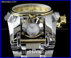 NEW Invicta Men's Bolt Zeus Magnum Chronograph 52mm Stainless Steel Watch