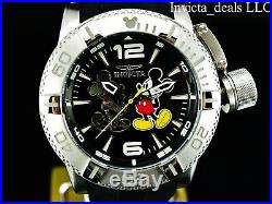 NEW Invicta Men's Disney 50mm Mickey Mouse Limited Edition Automatic SS Watch