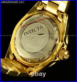 NEW Invicta Men's Pro Diver SUBMARINER Golden Dial Stainless Steel Watch