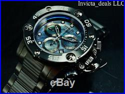 NEW Invicta Men's Reserve 52mm SEA HUNTER PROPELLER Swiss Chrono COMBAT SS Watch