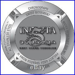 @NEW Invicta Men's Subaqua Noma IV Combat Swiss Movt Strap Watch 6582 SAN 4