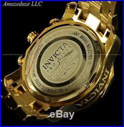 NEW Invicta Mens 18K Gold Plated Stainless Steel Scuba 3.0 Chronograph Watch