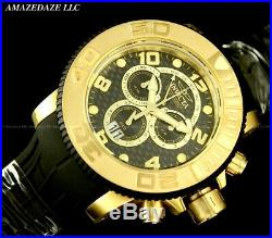 NEW Invicta Mens 58mm GEN I Sea Hunter SWISS 8040. N Chronograph BLACK DIAL Watch