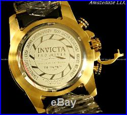 NEW Invicta Mens Pro Diver Stainless Steel Blue Textured Dial Chronograph Watch