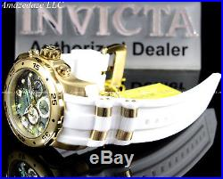 NEW Invicta Mens Scuba Pro Diver Stainless Steel Abalon Dial Chronograph Watch