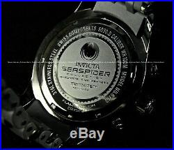 NEW Invicta Mens Swiss COMBAT Sea Spider 50mm Chronograph Stainless Steel Watch
