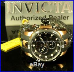 NEW Invicta Mens Venom Swiss Made ETA Chronograph 18K Rose GP Stainless St. Watch