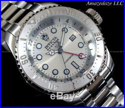 NEW Invicta Reserve Men's 52mm Hydromax Swiss GMT Stainless Steel 1000 M Watch