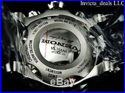 NEW Invicta Reserve Men's 52mm Venom Swiss Chronograph Blue MOP Dial SS Watch