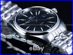 NEW PRE INVICTA Glycine Mens Combat Swiss ETA 2824 Auto Black Dial SS Watch 3890