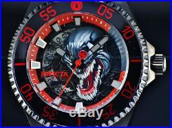 New Invicta 47mm Marvel's VENOM Ltd. Ed. Men's Pro Diver Automatic Black IP Watch