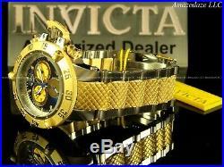 New Invicta 50mm Men Subaqua Noma III Swiss ETA Chrono 2Tone Stainless St Watch