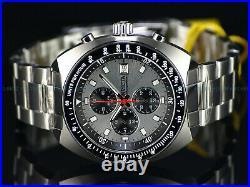 New Invicta Men 1970 Homage Paul Newman Panda Dial Chronograph Tachy Bezel Watch