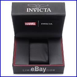 New Invicta Men MARVEL THOR Limited Edition Gunmetal Chrono S. S Bracelet Watch