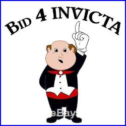 New Invicta Men's 17613 Subaqua Day Retrograde Blue Dial Steel Bracelet Watch